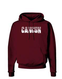 TooLoud Cancun Mexico - Cinco de Mayo Dark Hoodie Sweatshirt