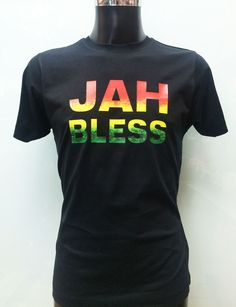 #Jah #Bless is a new #design from Savage London. If you love #reggae #music #Africa then this #tshirt is definitely for you. It could be a great #present for anybody as well. Lots of t-shirts in different colours. #savagelondon #custom #print #tshirt #customprinting #customprintedshirts #jahbless #bless