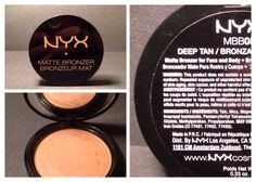 Perfect for spring, summer and beyond ¿ NYX Professional Makeup's Matte Bronzers! Makeup For Sale, Nyx Cosmetics, Professional Makeup, Bronzer, Face And Body, Eyeshadow, Retail, Deep, Beauty