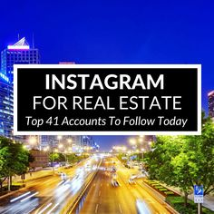 These agents are dominating the world of Instagram for real estate. Check out their profiles and see how you can start generating leads there as well.