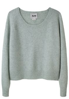 acne's sweaters are always so good. acne ruth mohair sweater. $290.