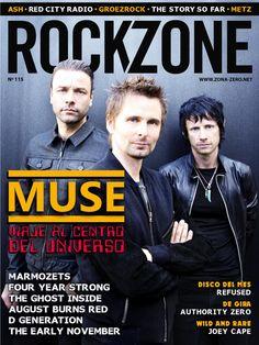 #Rockzone Magazine 115. #Muse, viaje al centro del universo.
