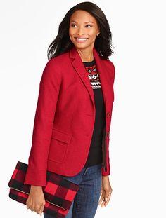 Talbots - Herringbone Shetland Blazer | Jackets | Oct 2015