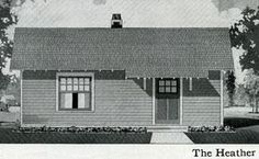 1916 Sterling System's Heather.  Mill homes, kit homes, catalogue homes