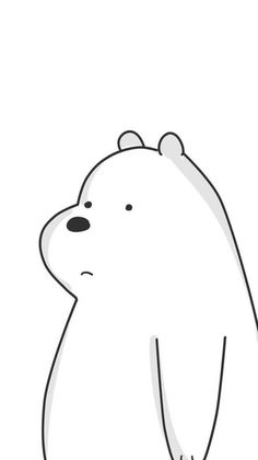 wallpaper Ice Bear We Bare Bears, We Bear, Bear Wallpaper, Iphone Wallpaper, We Bare Bears Wallpapers, Bear Drawing, Whatsapp Wallpaper, Cute Cartoon Drawings, Tsumtsum