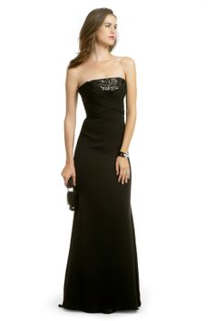 For Mom Prom. RTR: Badgley Mischka Glam Sequin Stunner Gown.