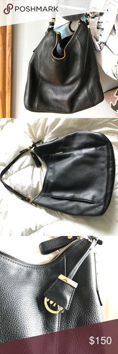 c9eadf3570f7d0 Shop Women's Michael Kors Black size OS Shoulder Bags at a discounted price  at Poshmark. Description: Black Michael Kors hobo bag with shoulder strap.