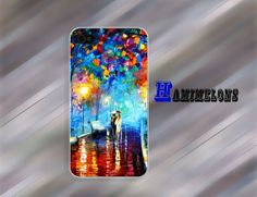 iPhone 5s Case iphone 5c case  Walking in the rain  by hamimelons, $7.99