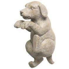 Shop For The Parlane Pothanger Dog Cream Height Free UK Delivery Over ✔ Interest Finance ✔ UK Customer Care ✔ Garden Sculpture, Lion Sculpture, Pot Hanger, Dog Gifts, Potted Plants, Labrador, Furniture Design, Statue, Outdoor Decor