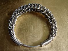 Pair of Beautiful Miao Tribal Silver Bangles by AntiqueAlchemists, $150.00