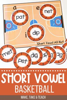 Your students will love learning short vowels with this hands on short vowel activity. This activity for learning short vowels is perfect for small group instruction. Short Vowel Activities, Phonics Activities, Hands On Activities, Educational Activities, Teaching Phonics, Kindergarten Literacy, Activity Centers, Literacy Centers, Words Containing