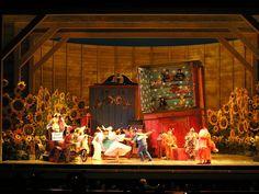 Cunning Little Vixen. Lyric Opera of Chicago. Scenic design by David Zinn. 2007