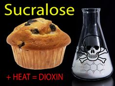 Sucralose/Splenda=DIOXIN. As a dietitian it's my job to look past hype & find out if safe choice as sugar alternative. Remember hearing Surgeon General Koop describe Splenda as PESTICIDE. Has a chlorine molecule added so cancer causing in itself. Fact reinforced after used Splenda & could not taste w/overwhelming metallic taste in my mouth instead. Next time that happened to me was after swimming laps in a highly chlorinated pool.  Never put that chlorine contaminated product in my body…