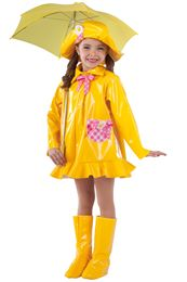 Themes and dreams come true when our character costumes hit the stage. Dance Picture Poses, Dance Pictures, Rain Costume, Cute Raincoats, Dance Recital Costumes, Dance Themes, Singing In The Rain, Dance Fashion, Halloween Disfraces