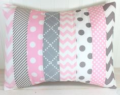 Throw Pillow Cover Nursery Cushion Cover by theredpistachio, $22.50