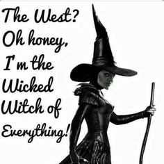 Discover and share Wicked Witch Quotes. Explore our collection of motivational and famous quotes by authors you know and love. Witch Quotes, Witch Meme, Funny Quotes, Funny Memes, Hilarious, Random Quotes, Short Quotes, Movie Quotes, My Demons