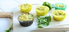 MACARONI PEAS LEFTOVER MUFFINS: Do you have any leftover Macaroni Peas pasta from yesterday? Try turning it into these little muffins.  Fussy eaters and toddlers who only want to feed themselves will love them.  #onehandedcooks