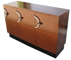 GILBERT ROHDE American Art Deco East Indian Laurel Sideboard
