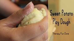 Sensory Activity of the Week: Sweet Potato Play Dough - repinned by @PediaStaff – Please Visit  ht.ly/63sNt for all our ped therapy, school & special ed pins