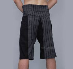Thai Fisherman Pants aka Wrap Pants are lightweight and very comfy. Fisherman Pants are made of fabric pleasant to the touch. Plain Colors. ☆ Fit all sizes. Come in nice cotton bag. Being a free size and nicely packed, it is Perfect for a Gift. ☆ 100% cotton. Washing Instructions: