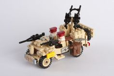 World War 2 LEGO Army | LEGO S.A.S. Jeep with Lewisgun | BRiCKiZiMO's blog