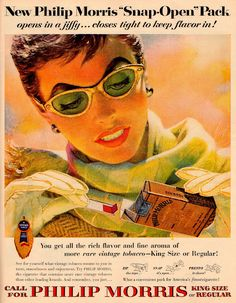 1950's cigarette ad.