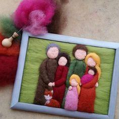 Hier findet ihr einige der Wollbilder, die ich bisher gefertigt habe. Mit einem Klick auf die Bilder werden sie groß :)     Falls ihr auch ...