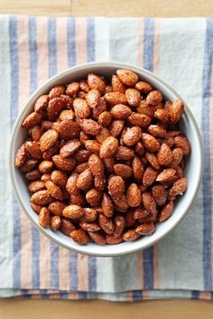 Snack on this! These savory almonds will satisfy your snack-time cravings and help you stay healthy.