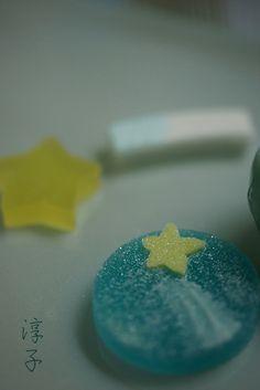 Milky Way Wagashi for Tanabata Festival