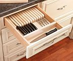Rolling Tray Kitchen Drawer Organizers, Rev-a-Shelf RT Wide - Rockler Woodworking Tools Kitchen Drawer Organization, Diy Kitchen Storage, Kitchen Decor, Kitchen Ideas, Kitchen Inspiration, Cabinet Organizers, Design Kitchen, Utensil Organizer, Kitchen Organizers