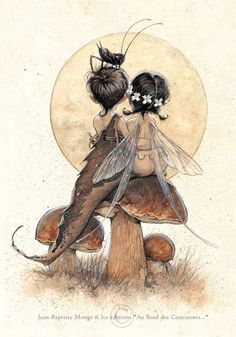 Academy of Art Character and Creature Design Notes: An Interview with Jean-Baptiste Monge, Part 2 Fairy Dust, Fairy Land, Fairy Tales, Magical Creatures, Fantasy Creatures, Forest Creatures, Fantasy Kunst, Fantasy Art, Love Fairy