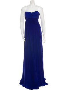 Giambattista Valli Silk Maxi Dress