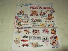 50 Cross Stitch Baby Designs - American School of Needlework No. 3556 – COMPLETE MAYHEM