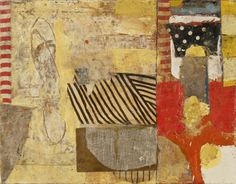 Sammy Peters, Repose: significant; memory suite, No. 11, 2014, Oil and Mixed Media Collage, 11 in x 14 in, #019326 LewAllen Galleries