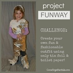 """Tin Foil & Toilet Paper Challenge (Fun Party Game for slumber parties, scout groups, even parties for """"grown ups"""")"""