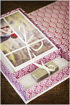 Bespoke USB Packaging box for Photographers