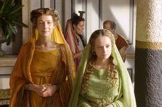 Rome - Livia and Alfidia. Inspiration for Lavinia and Cornelia's at home outfits