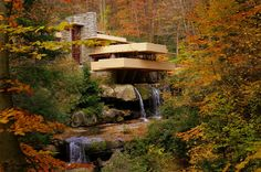 Sights Unseen Photography: Falling Water in the Fall _magnificent !!