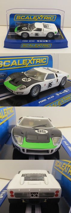 1970-Now 4781: C3231 Scalextric Ford Gt40 W Lights No.95 Daytona 1966 Usa Only 1:32 Slot Car -> BUY IT NOW ONLY: $41.75 on eBay!