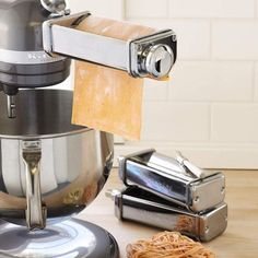 Kitchen Aid Pasta Machine...I would love to make all my own pasta...so yummy!!!