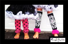 Leg Warmers Girls and baby leg warmers  damask by Snugglebugkidz, $19.99