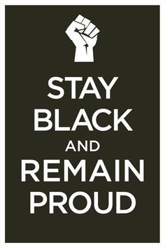 WWII Era Poster Stay Black and Remain Lovely Keep by urbanbazaar, $18.95