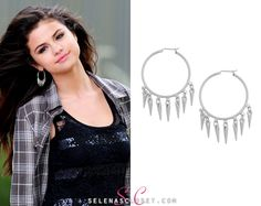 Here you'll find information on the latest outfits that Selena has worn and where to get them. Everything from her day to day, to her award show dresses straight off the runway. Selena Gomez Closet, Statement Earrings, Hoop Earrings, Award Show Dresses, Latest Outfits, Celebrity Style, Photoshoot, Tank Tops, Celebrities