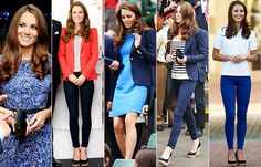 #KateMiddleton en los #JJOO de Londres 2012 imponiendo el azul-blanco-rojo