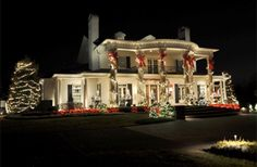 christmas mansions - Google Search