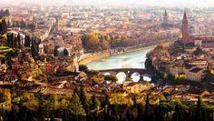 Admirable vue panoramique d'Italie Vérone