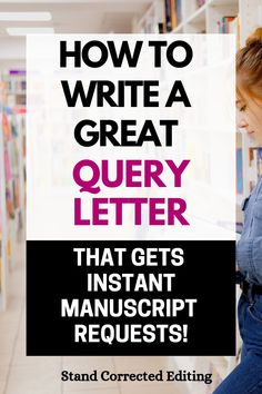 Are you hoping to attract your dream literary agent with your manuscript but have no idea where to start with your querying package? Well, you're not alone, & I can help you! Literary agents want to read a quality query letter that's 100% perfect, so this article will teach you how to write one from start to finish with easy-to-follow examples! Click to learn how to write a great query letter today! #queryletterexampleswriters #queryletterexamples #queryletter #howtogetaliteraryagent