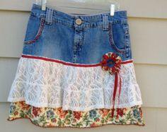 SAN ANTONIO RIVERWALK Upcycled Skirt