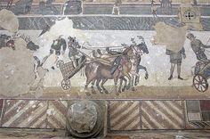 The Roman Villa del Casale in Piazza Armerina
