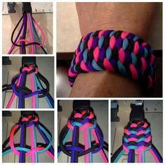 Wide paracord bracelet...